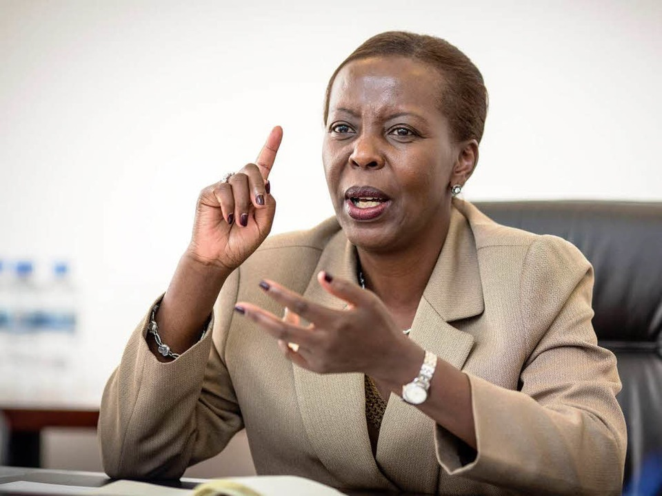 L. Mushikiwabo  | Foto: Thomas Imo/photothek.net