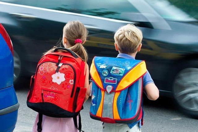 Schulwegunfälle nehmen stark zu