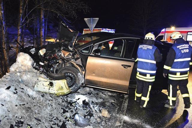 Unfall mit vier Verletzten