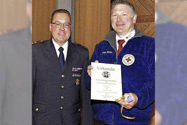 Mehr als 1000 Einsätze für die Feuerwehren im Landkreis