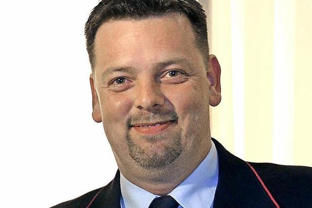 Mike Ernst zum neuen Feuerwehrchef bestellt