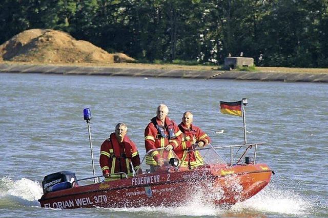 Rheinalarm am Nachmittag
