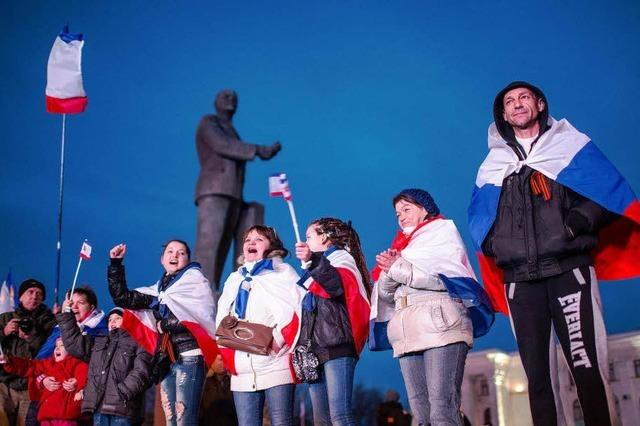 Krim stimmt für Russland-Beitritt – 96,6 Prozent Zustimmung