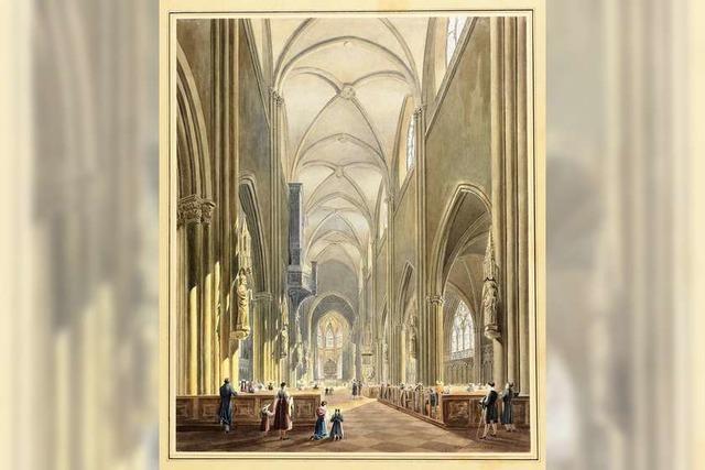 Wie das Freiburger Münster seine Farbe verlor
