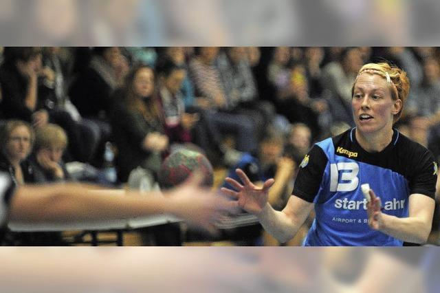 Hilfesuchende Blicke bei den Handballerinnen des TV Lahr