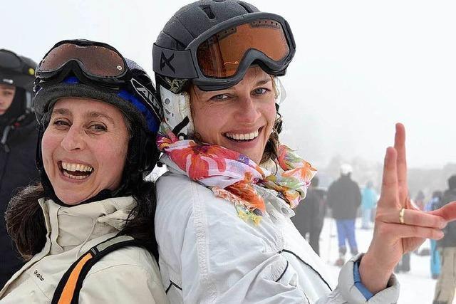 Ladies Day am Feldberg: Der Tag der Schneehäsinnen