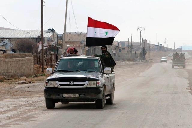 Assad auf dem Vormarsch – Rebellen fliehen aus Jabrud