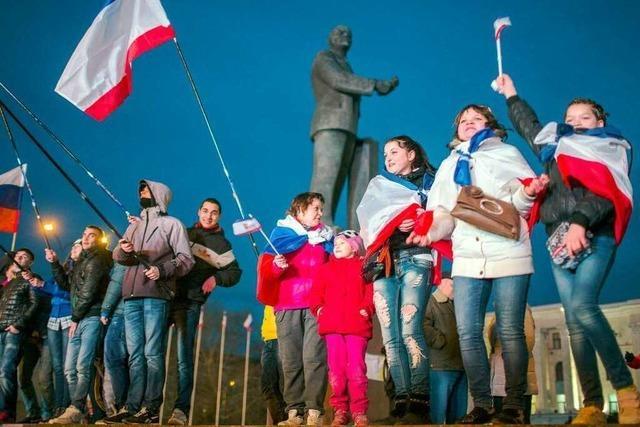 Krim-Regierung beantragt Anschluss an Russland