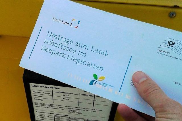 Letzter Tag der Umfrage zum Landesgartenschau-See in Lahr