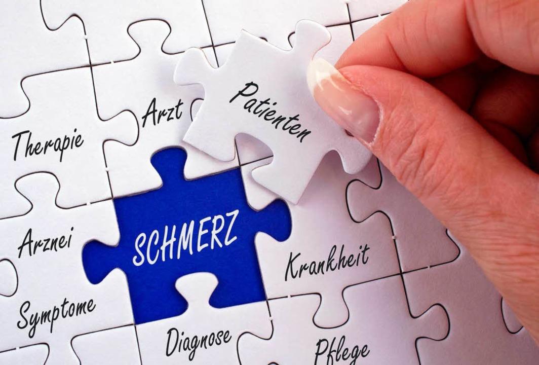 Chronischer Schmerz ist meist ein Puzzlespiel mit vielen Ursachen  | Foto: DOC RABE Media - Fotolia