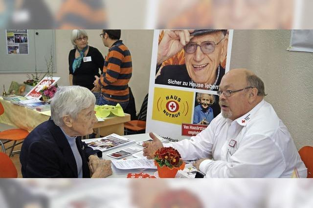 Rat und Hilfe für Ältere ist gefragt