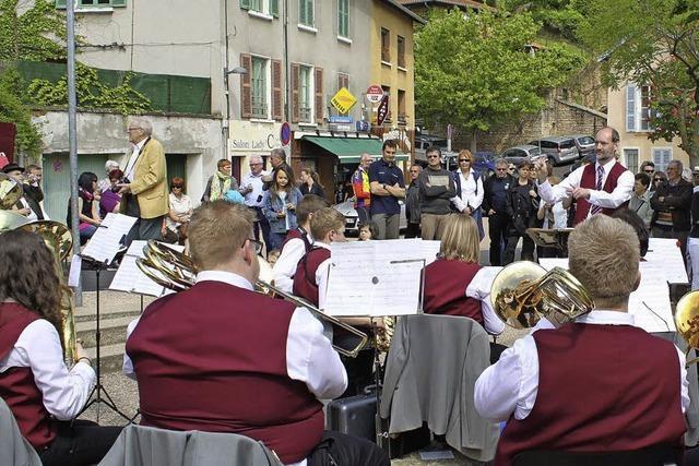 Musikkapelle Ringsheim kommt bei der Jugend an