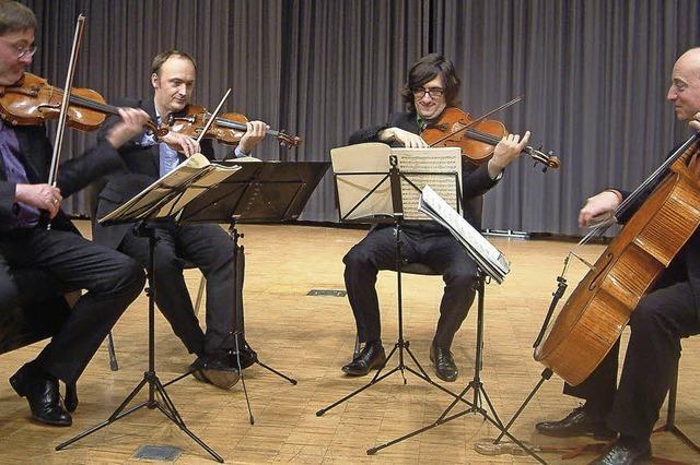Schräge Töne im Quartett
