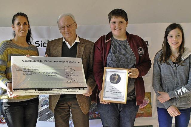 Compes-Preis für Oberkircher Schüler