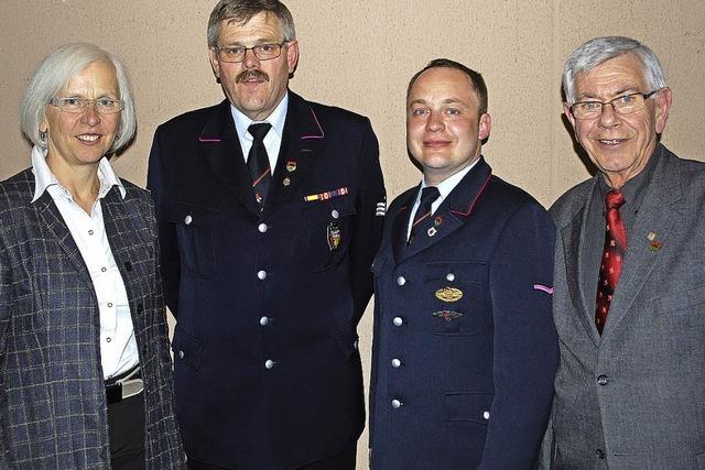Florian Börs ist neuer Kommandant