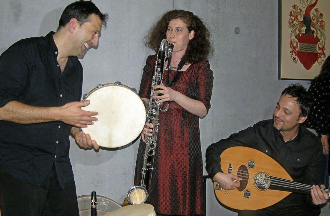 Das Ensemble FisFüz in Zell  | Foto: Roswitha Frey