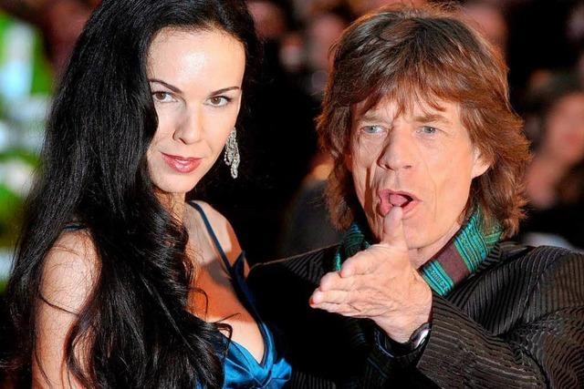 Stones-Sänger Mick Jagger trauert um seine Freundin