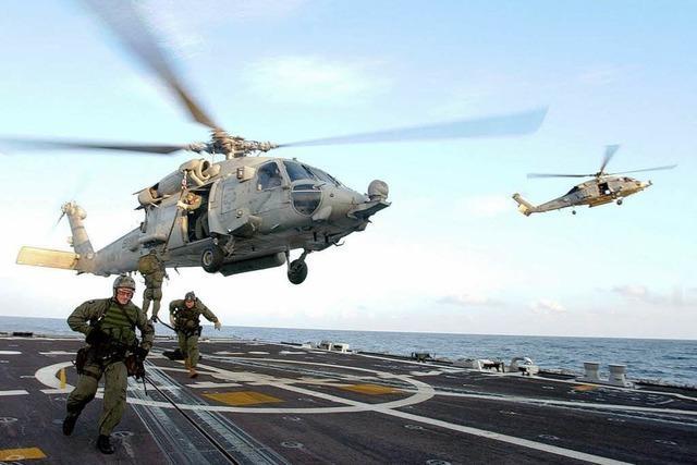 Libysche Rebellen: Navy Seals stürmen gekaperten Öltanker