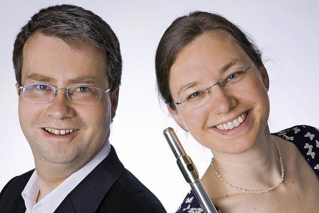 Das Duo Invenzione spielt in Kandern