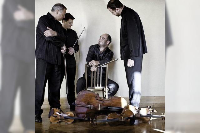 Die Tschechen: Das Talich-Quartett spielt in Offenburg