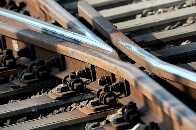 Neue Weichen für den Basler Bahnhof - Behinderungen im Regionalverkehr