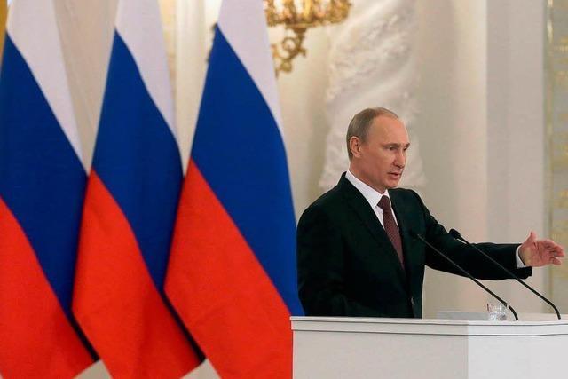Putin unterzeichnet Vertrag über Anschluss der Krim an Russland
