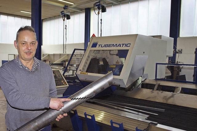 Metallbau-Unternehmer Wilhelm Trenkle investiert in die Zukunft