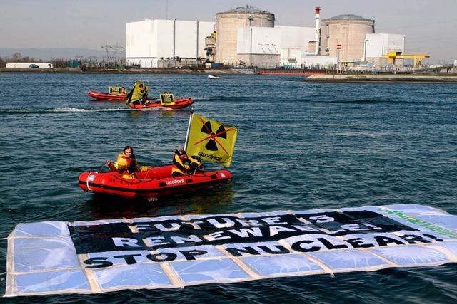 Greenpeace besetzt Akw Fessenheim – Polizei nimmt 56 Aktivisten fest