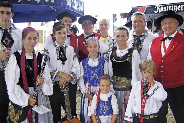 2015 Kreistrachtenfest in Bleibach