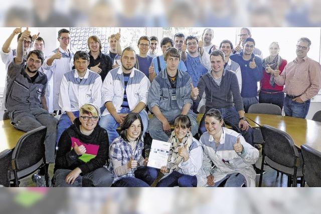 Ausbildung als Zukunft der Firma