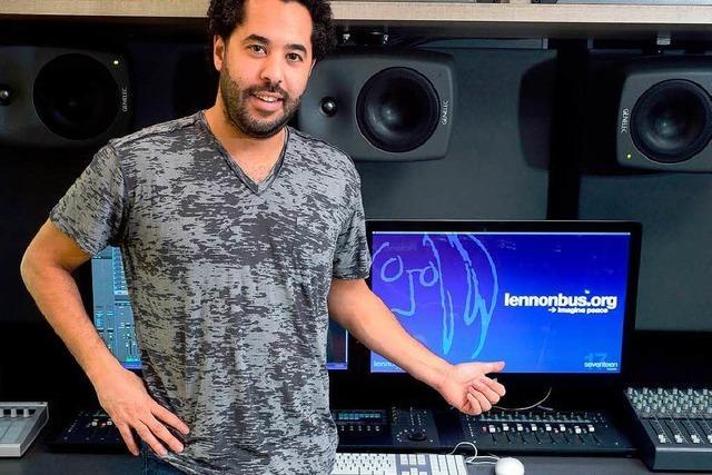 Studiotag für junge Musiker im Lennon-Bus zu gewinnen