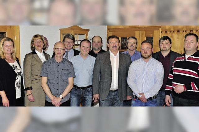 Alle zwölf Listenplätze der CDU sind mit Kandidaten besetzt
