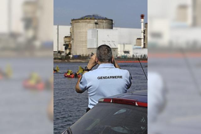 Greenpeace dringt in Fessenheim ein