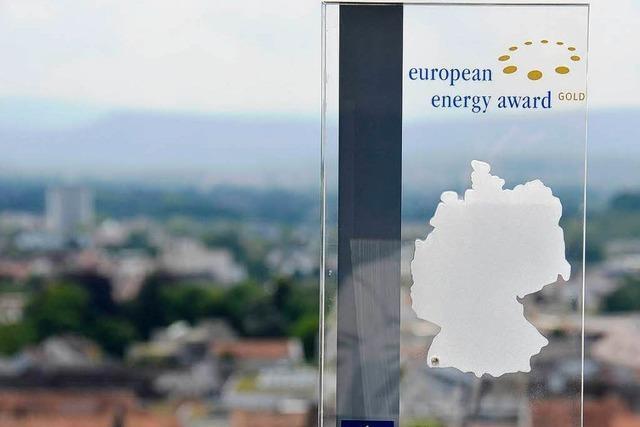 Lörrach zum zweiten Mal mit dem European Energy Award in Gold geehrt
