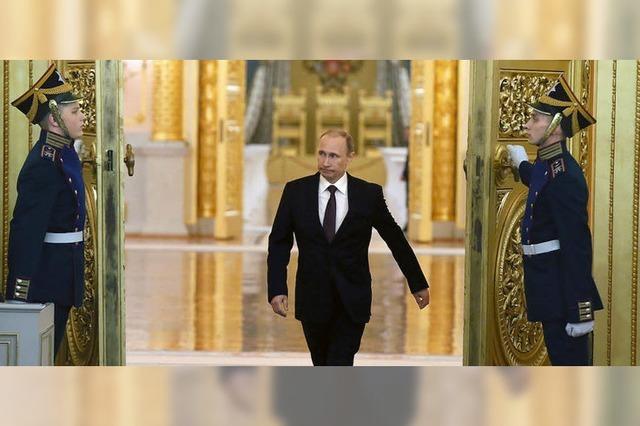 Stürmischer Applaus im Kreml
