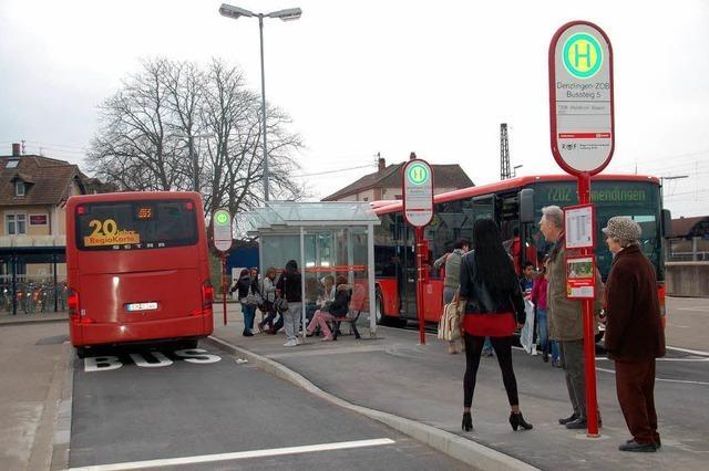 Welcher Bus startet von wo?