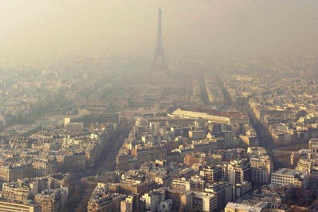 Paris versinkt in Smog
