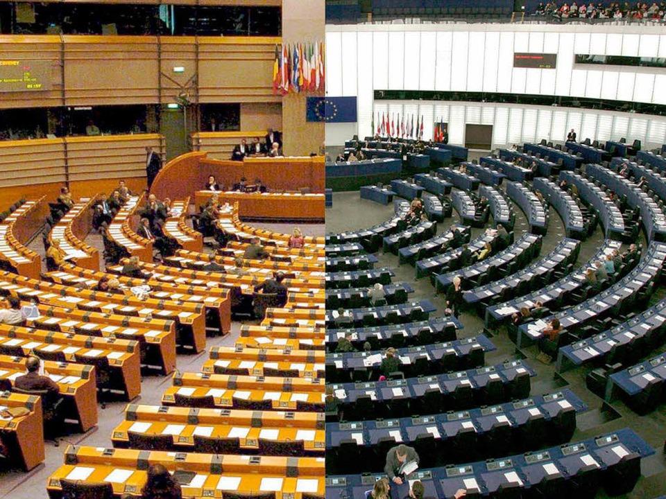 Das Europa-Parlament wird am 25. Mai neu zusammengesetzt.  | Foto: dpa
