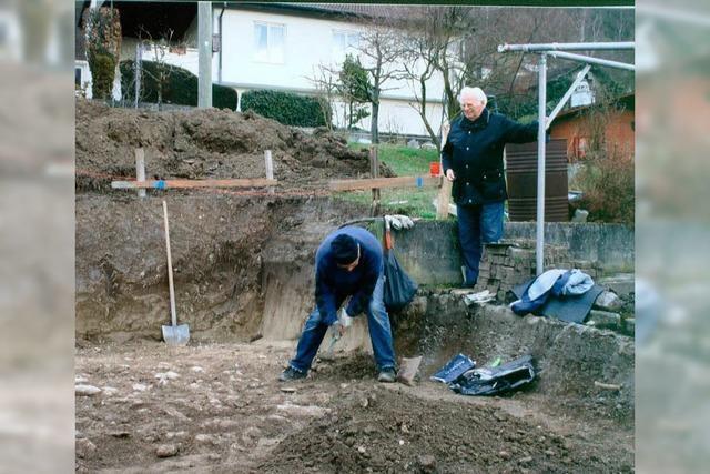 Einsatz für Arbeitsgruppe Archäologie