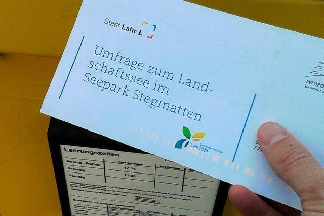Stegmattensee Lahr: Mehrheit votiert für Bademöglichkeit