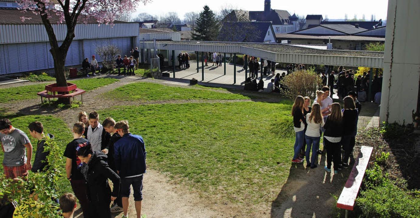 Die Bötzinger Schule setzt darauf, das...- und Realschulzweig eine Zukunft hat.  | Foto: Manfred Frietsch