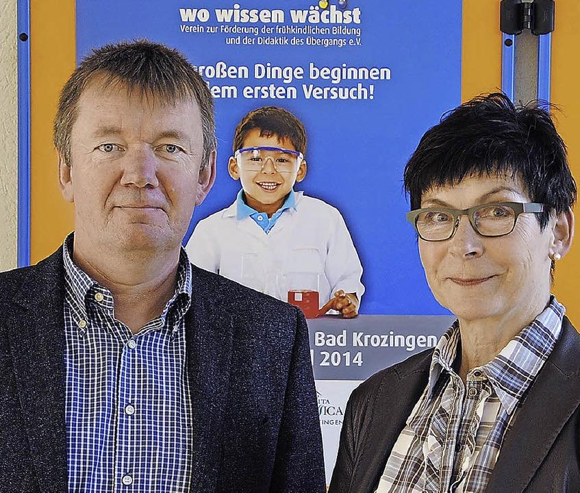 Setzen auf die Zukunft der Verbundschu...iedrich und Konrektorin Heike Thunert.  | Foto: manfred frietsch