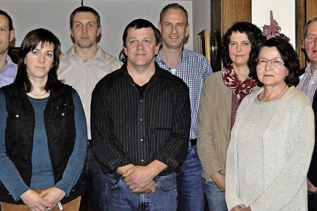 Sieben Bewerber für Gemeinderat