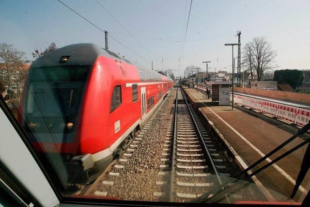 Ausbau der Rheintalbahn: EU übernimmt 40 Prozent