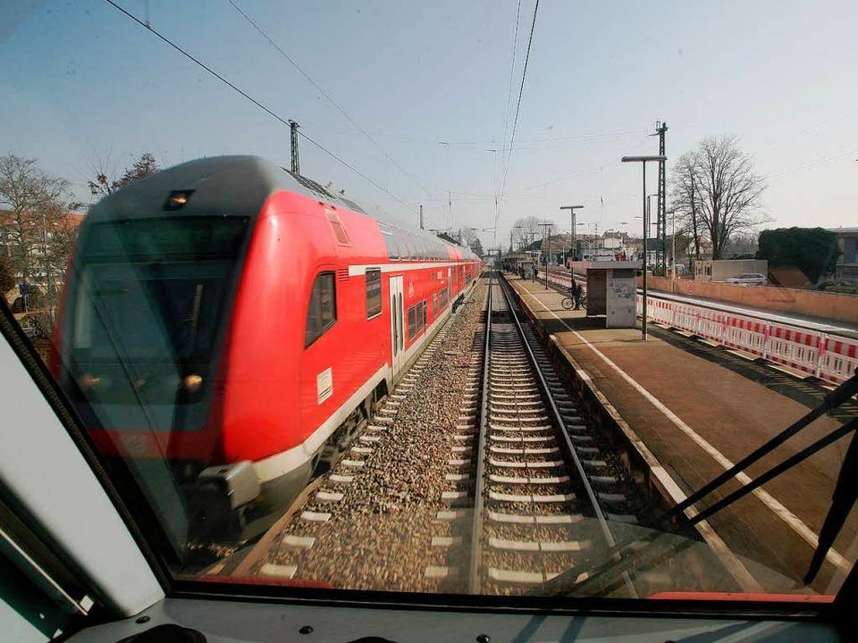 Die Rheintalbahn wird ausgebaut &#8211...tlich mit großer Unterstützung der EU.  | Foto: Bastian Henning