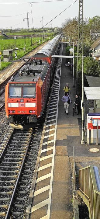 Der Bahnhof in Auggen   | Foto: Umiger