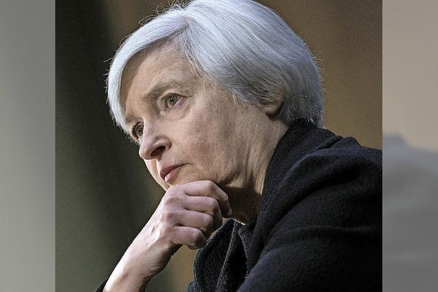 US-Notenbank dreht Geldhahn ein wenig zu