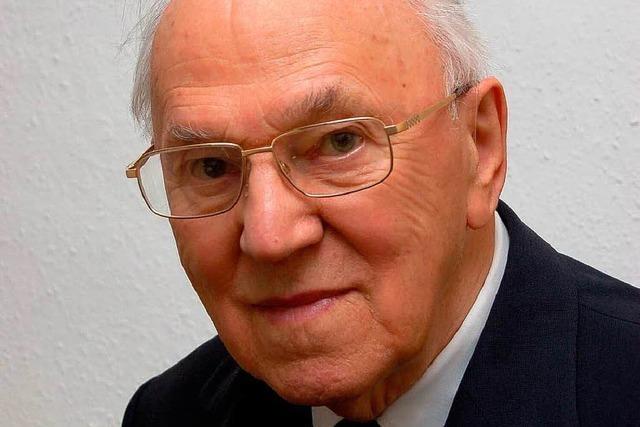 Pfarrer Hermann Schmid vor 65 Jahren zum Priester geweiht