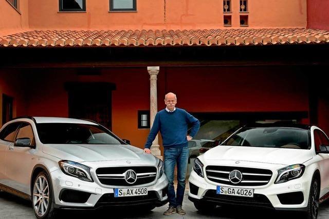 Vollgas-Interview mit Mercedes-Boss Dieter Zetsche