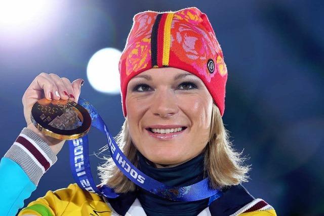 Maria Höfl-Riesch beendet ihre Karriere